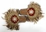 Epaulets With Gold Fringe And White Faceted Stones (1984)