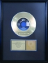 "Thriller RIAA Gold Award For The Sale Of 500,000 Copies Of 7"" Single In USA"