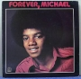 "Forever Michael Commercial 12"" LP Album (Italy)"
