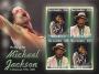 "Gambia 2009 Michael Jackson ""In Memoriam"" Souvenir Stamp Sheet"