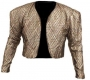 Gold Bolero Jacket Worn By Michael (1990's)
