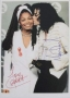 Grammy Awards Photo Signed By Michael And Janet (1993)