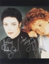 HIStory Era Promo Photo Signed By Michael Jackson (1995)