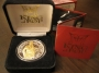 HIStory Official World Tour Commemorative Coin - Silver/Gold (USA)