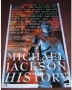 HIStory Past, Present And Future Book I Promo Poster (Songs) (UK)