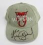 HIStory Tour Khaki Cap Signed By Michael (1997)