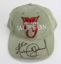 HIStory Tour Khaki Cap Signed By Michael (1997)