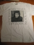 HIStory World Tour Official *Man In The Mirror* White T-Shirt (New Zealand)
