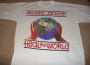 "HIStory Tour ""Heal The World"" Official Promo White T-Shirt (Europe)"