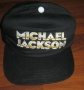 HIStory World Tour Official Black Baseball Cap W/ White/Yellow Logo (Europe)