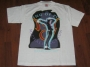 HIStory World Tour Official White T-Shirt W/Billie Jean Live (Europe)