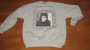 HIStory World Tour Official Gray *Man In The Mirror* Sweater (Europe)