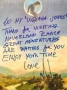 "Handwritten Note ""To My Indiana Jones"""