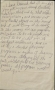 Handwritten Note About Mental Program