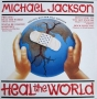 "Heal The World Limited Edition Special Posterbag 12"" Single (UK)"