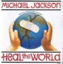 "Heal The World Limited Edition Posterbag 7"" Single (UK)"