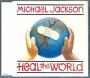 Heal The World (2 mixes + 2) CD Single (UK)