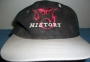 HIStory Tour Black Baseball Cap W/ 'MJ HIStory' Logo (Europe)