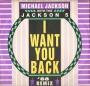 """I Want You Back ('88 Remix) Commercial 12"""" Single (UK)"""