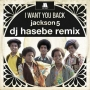"I Want You Back (DJ Hasabe Remix) Limited 7"" Single (Japan)"
