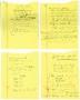 In The Closet Handwritten Lyrics (1991)