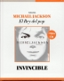 Invincible *El Rey Del Pop/El Comercio Magazine* Official Limited Book+CD Set (Perù)