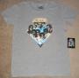 "J5 Collection ""Diamond"" Official Fashion Crew-Slub T-Shirt (USA)"