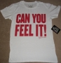 "J5 Collection ""Feel It"" Official Fashion Crew T-Shirt (USA)"