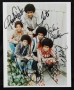 Jackson Five Group Portrait Photo Signed By Michael & The J5 (1972)