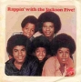 """Rappin' With The Jackson Five Commercial 7"""" Single (USA)"""