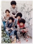 Jackson Five Signed Group Portrait Photo (c. 1972)