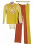 Jackson Five TV Show Yellow And Orange Costume Worn And Signed By Michael Jackson (1972)