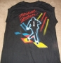 "Jacksons Victory Tour ""Billie Jean Video"" Official Black Sleeveless Shirt (USA)"