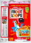 Kellogg's Fruit Loops Cereal Box *Jacksons Victory Stickers* (USA)