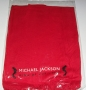 "Michael Jackson ""King of Pop"" Official Red Scarf (USA)"