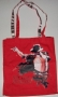 """King Of Pop Michael Jackson Red """"London O2"""" Deluxe Tote Bag (UK)"""