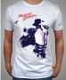 King Of Pop Portrait Official *Amplified* White Men Shirt (UK)