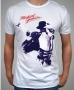 King Of Pop Portrait Official *Amplified* White Men Shirt (UK)