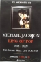 "King Of Pop ""In Memory"" Promo Poster (Thailand)"