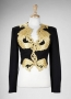 Kora All Africa Music Awards Black Jacket With Dragon Applique Worn By Michael Jackson (1999)