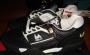 L.A. Gear Unstoppable Black/White Leather Shoes *Moon Rocker Low* Style 5712 BK/W (USA)