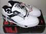 L.A. Gear Unstoppable White/Black Leather Shoes *Street Magic Low* Style W/BK (USA)