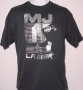 L.A. Gear Unstoppable 'MJ Feet' Black T-Shirt (USA)