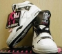 L.A. Gear Unstoppable White/Black Leather Shoes *Smooth Criminal* Style 6158 W/BK (USA)
