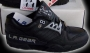 L.A. Gear Unstoppable Black Leather Shoes *Street Magic Low* Style 1152 BK (USA)