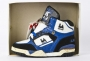 L.A. Gear  Unstoppable White/Royal Blue Leather Shoes *Moon Rocker High* Style 5714Y W/RY (USA)