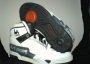 L.A. Gear  Unstoppable White/Black Leather Shoes *Street Magic High* Style 1152 W/BK (USA)