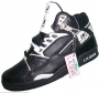 L.A. Gear  Unstoppable Black/White Leather Shoes *Smooth Criminal* Style 6158 BK/W (USA)