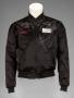 "LA Gear Black Satin Jacket ""Bubbles"" Signed By Michael (1989)"