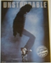 LA Gear Unstoppable Promo Poster *MJ On Toes* (USA)